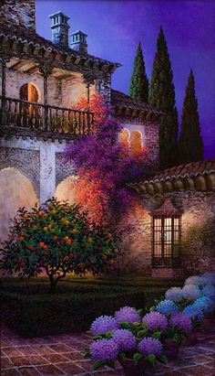 Luis Romero 1948 | Spanish Spray Paint Landscape painter | Tutt'Art@ | Pittura * Scultura * Poesia * Musica |