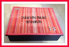 TEA BOX (CAJA DE TE) DECOUPAGE