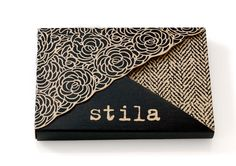 Stila Backstage Eye Shadow Carton. Origami inspired