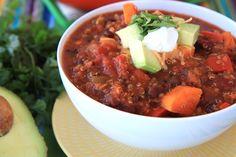 sweet potato and quinoa chili 2
