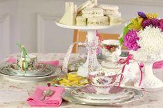 Sweet & Simple Vintage Tea Inspired Bridal Shower Ideas