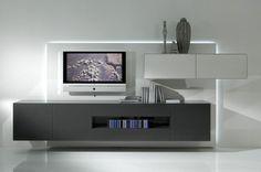 Fernsehschrank modern ikea  fernsehschrank ikea weiß regale bücher blumen | Design | Pinterest ...