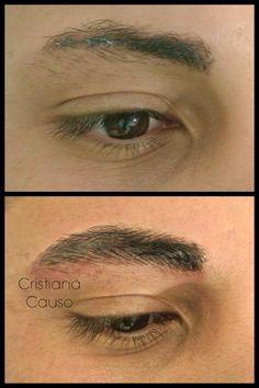 pmu male eyebrows