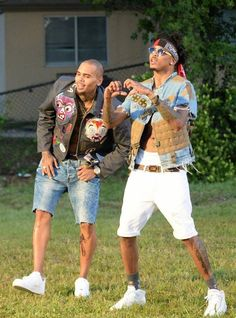 Chris Brown & August Alsina Like this pic? See more on my Pinterest: @jadag1202