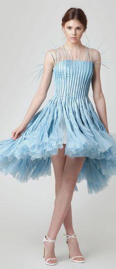 Jean Louis Sabaji Couture Spring/Summer 2015