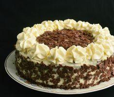 Tort cu crema de lapte Romanian Food, Nutella, Tiramisu, Biscuits, Cheesecake, Food And Drink, Caramel, Ice Cream, Sweets
