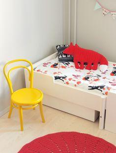 Rafa-kids : Yellow in kids' room