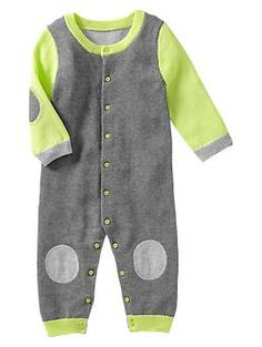 Colorblock sweater one-piece newborn boys.. #gapkids #futureheartbreaker