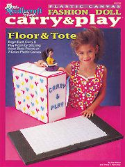 Fashion Doll Carry & Play Floor & Tote - Electronic Download