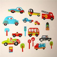Aliexpress.com : Buy Wholesale, Free Shipping, cars/Boys/Girls/Kids/Bedrooms home decal sticker from Reliable home decal sticker suppliers on U Life Store $12.99