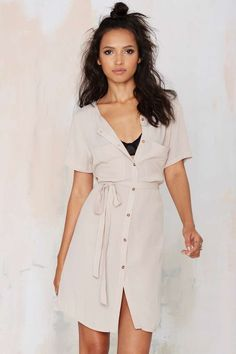 Total Flirt Shirt Dress | Shop Clothes at Nasty Gal!