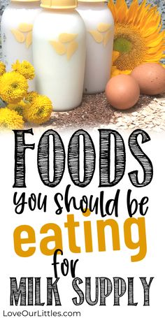The FOODS you should be eating as a breastfeeding moms. Best foods for milk supply and breastfeeding. Caffeine And Breastfeeding, Best Food For Breastfeeding, Breastfeeding And Pumping, Lactation Recipes, Lactation Cookies, Lactation Foods, Bite Size Cookies, Increase Milk Supply, Homemade Baby Foods