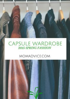 Spring+2015+Fashion+Capsule+Wardrobe+Project+from+MomAdvice.com.