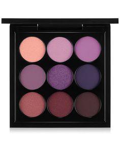 MAC Eye Shadow Palette, Purple x 9  Wedding Color Palette