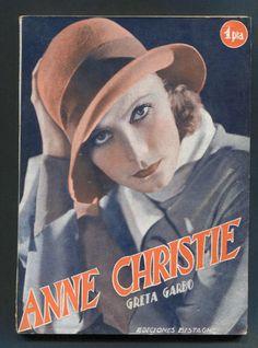 GRETA GARBO MAGAZINE DEVOTE  ANNA CHRISTIE  1931 OF SPAIN