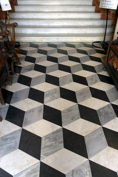 Neat 3D Floor Tile Design | by Chris Tingom