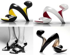 "Awesome ""Mojito"" shoes by Julian Hakes."