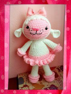 Lambie de la Dra juguetes de Carlita en fieltrolandia