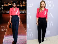 Olivia Wilde In Marc Jacobs – The Hollywood Reporter's Annual Women In Entertainment Breakfast