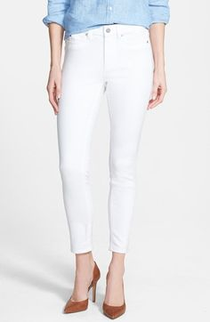 Free shipping and returns on Two by Vince Camuto Skinny Jeans (Ultra White) at Nordstrom.com. Spring colors will pop against these gleaming white jeans in a classic skinny cut with five-pocket styling.