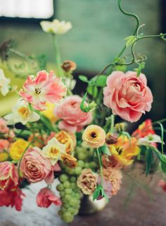 rosegolden flowers - little flower school