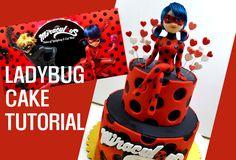 Resultado de imagen para imagenes de cake de ladybug