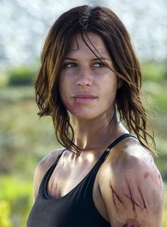 Rona Mitra as Eden Sinclair in Doomsday (2008)