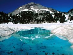 The Thaw, Lassen Volcanic National Park, Mineral, California