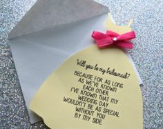 Will you be my bridesmaid/maid of honor by InnovativeGoodies