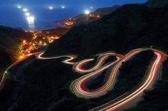 Rutas de noche