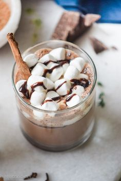 There's no such thing as too much hot chocolate.