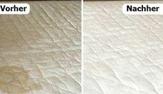 Matratze reinigen und Gerüche natürlich entfernen