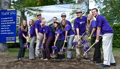 PACCAR Hall ground breaking, 2008