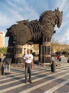 Turquia - Çanakkale / Cavalo de Tróia