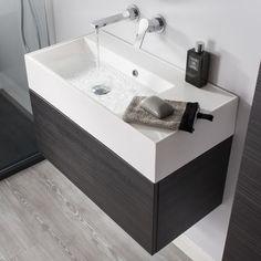 Bauhaus Elite 100 Anthracite Vanity Unit & Basin