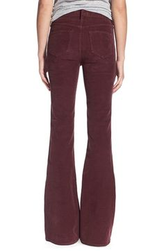 Flare Corduroy Pants