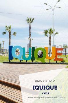 Veja o que fazer em Iquique, no Chile: com um belo visual e boas praias, Iquique é um destino privilegiado no país. Iquique é uma cidade litorânea espaçosa, rodeada de deserto e com um rico centro histórico. Confira todas as atrações de Iquique e aproveite nossas dicas para se divertir e relaxar nessa cidade chilena. #iquique #chile #emalgumlugardomundo #viagem #viajar #dicasdeviagem #ferias Chile, Travel, History Museum, Saving Tips, Cheap Trips, Brazil Cities, Relaxer, South America, Littoral Zone