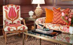 brunschwig fabrics | Living Room Redo / Brunschwig & Fils - Fabrics