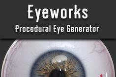 Procedural Eye Generator- Cubebrush
