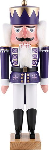 Nutcracker King purple  - 35cm / 13.8inch