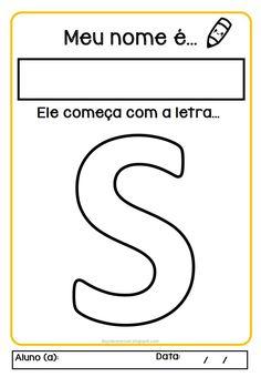 Alphabet, Letters, Diy, Literacy Activities, First Period, Language Development, Note Cards, Bricolage, Alpha Bet