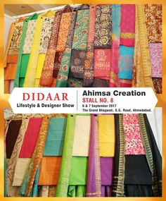 3fcb8106017e6d Get hold of these at Stall No 8 at Didaar - Lifestyle & Designer Show on  Sep & at TGB, Ahmedabad