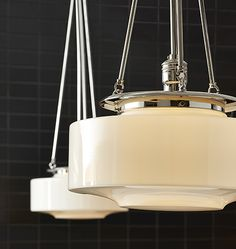 Hood pendants designed in Portland and made in the USA | Rejuvenation | Ideal lighting design for kitchens, dining rooms, entryways & living spaces.