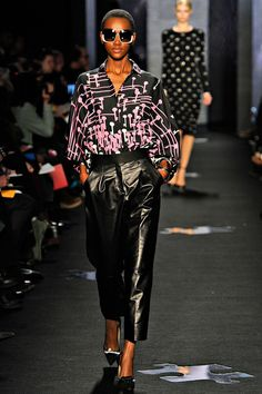 Herieth Paul for DVF spring 2012