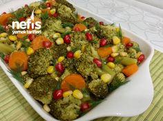 Limonlu Sarımsaklı Enfes Brokoli Salatası