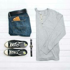 Weekend Outfit Formulas For Men #mens #fashion #style