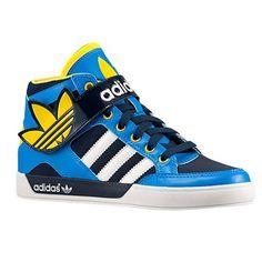 buy online db1d9 3eefa adidas Originals Hard Court Hi Strap - Boys  Grade School