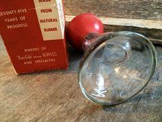 Glass Breast Pump Vintage Breast Pump Breast Pump by PoppiesHouse