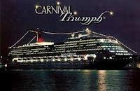 Carnival Triumph @ night