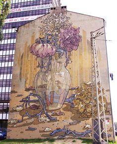 Łódzkie murale Poland, Street Art